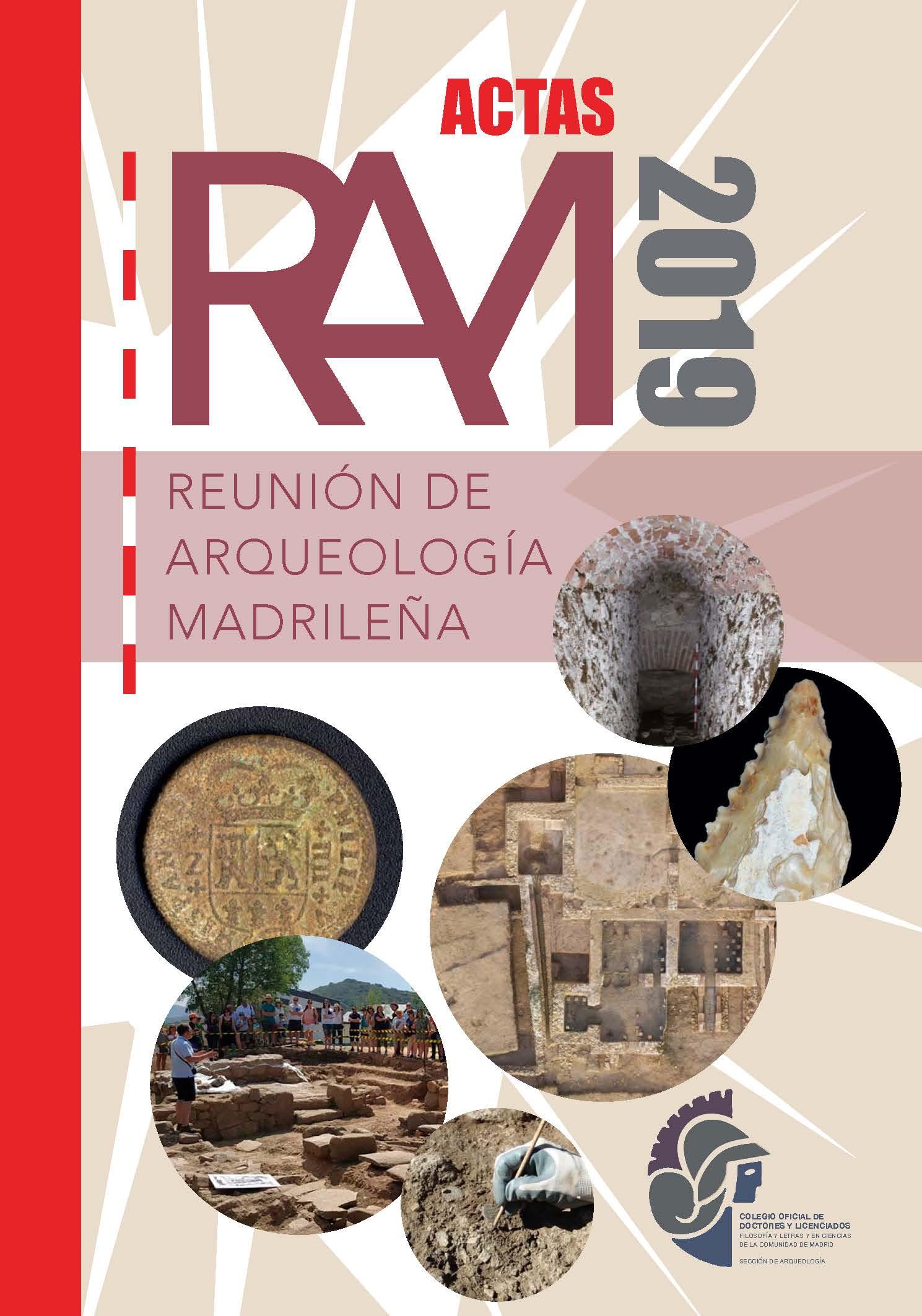 Actas de la Reunión de Arqueología Madrileña 2019